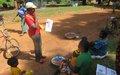 Du ''porte à porte'' pour sensibiliser sur le COVID-19 à Bossangoa
