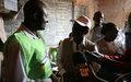 « Nous sommes contents de voir comment la Centrafrique écrit son histoire», dit le RSSG