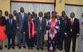 Vers la mise en place en RCA de la Commission Vérité, Justice, Réconciliation et Réparation