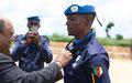 Bouar : La contribution à la paix des casques bleus camerounais matérialisée