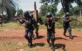 Des FSI de Bambari à l'école des techniques  de maintien de l'ordre et du respect des droits de l'homme