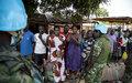 Rassurer les populations du PK12 et de Bégoua après les tentatives d'incursion des groupes armés