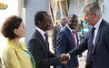 Arrivée à Bangui du Chef des opérations de maintien de la paix de l'Onu