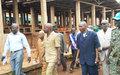 Le marché central de Bambari rouvre après 3 ans de fermeture