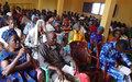 Echanges sur le mandat de la MINUSCA avec les populations de Baboua pour un meilleur accompagnement du processus de paix