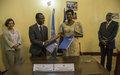 Optimiser les efforts Gouvernement-MINUSCA en faveur de consolidation de la paix en RCA