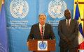 Le Secrétaire général quitte la Centrafrique mais va continuer à plaider pour le pays