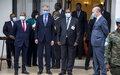 Echanges fructueux entre la délégation UA-CEEAC-ONU, le Chef de l'Etat et la société civile