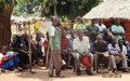 Obo : Les déplacés de Gougbere informés des dispositions prises pour leur retour