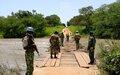 Paoua: Patrouille conjointe, MINUSCA-FACA, aprèsle signalement de la présence d'un groupe armé
