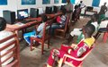 Bambari: Le Centre multimédia, une initiative fructueuse