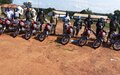 Bambari : la MINUSCA renforce la mobilité des FSI