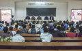 L'intelligentsia centrafricaine prête à participer à la vulgarisation de l'Accord de paix