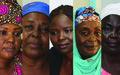 Solidarité féminine autour de l'Accord de paix et de réconciliation