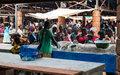 Un environnement sain et propre pour les commerçants du marché Combattant de Bangui