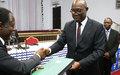 Les jeunes centrafricains au cœur du processus de relèvement et de consolidation de la paix