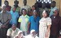 Ex-seleka et ex-anti-balaka de la Nana-Bakassa s'engagent dans le dialogue et la paix