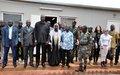 A Kaga-Bandoro, Mankeur Ndiaye exhorte les groupes armés à respecter les engagements pris dans le cadre de l'APPR