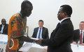 Des ex-combattants reçoivent leurs certificats de fin de formations dans l'agropastoral