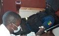 Une femme enceinte sauvée par le don de sang d'un casque bleu sénégalais