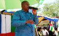 « Les négociations sur le DDRR avec les groupes armés seront relancées dès le 21 avril », a promis Touadéra en visite à Bambari