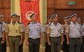 19 policiers tunisiens de la MINUSCA honorés pour leur contribution à la paix en RCA