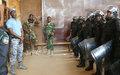 Un exercice de simulation pour prévenir des incidents à la prison de Ngaragba de Bangui