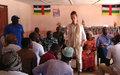 En visite à OBO, Denise Brown plaide pour une appropriation de l'Accord de paix et de réconciliation