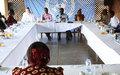 Les jeunes au Représentant spécial : ''Vous voulons apporter notre appui au retour de la paix en Centrafrique''