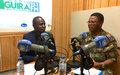 « Le peuple centrafricain, malgré les difficultés, trouvera bientôt le chemin d'une paix durable », dit le Général de division Sidiki Daniel Traore