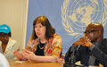A Kaga-Bandoro, Virginia Gamba invite les groupes armés à s'engager dans la prévention des violations graves des droits des enfants